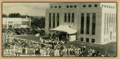 Dedication of Courthouse